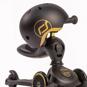 Fahrradhelm XXS-S Gold & Black   Scoot and Ride