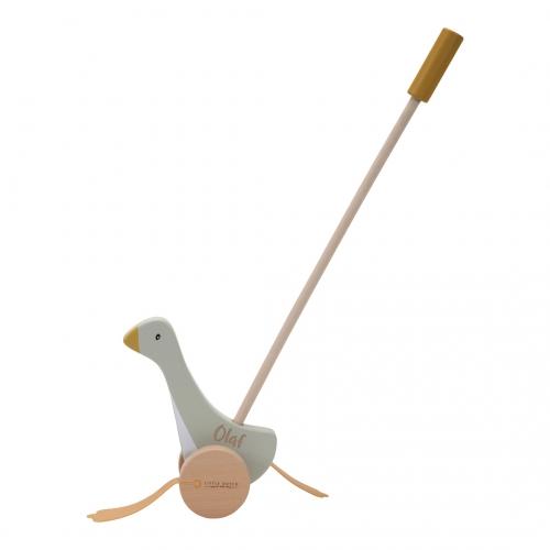 Watschelente Gans Holz Baby Schiebetier Little Goose   Little Dutch