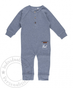 Little Dutch Overall - blue melange Gr.56   by Schmatzepuffer®