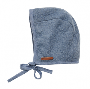 Little Dutch TE60130140 Baby  Mütze 0-3 Monate - pure blue blau   by Schmatzepuffer®