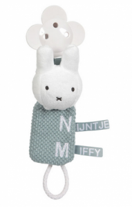 Schnullerkette knit grün | Miffy
