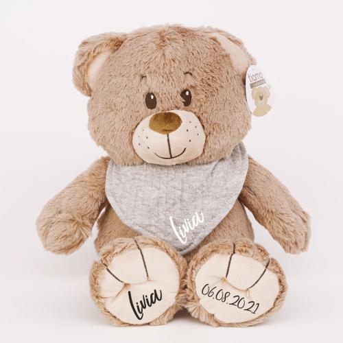 Teddybär mit Halstuch - 35 cm