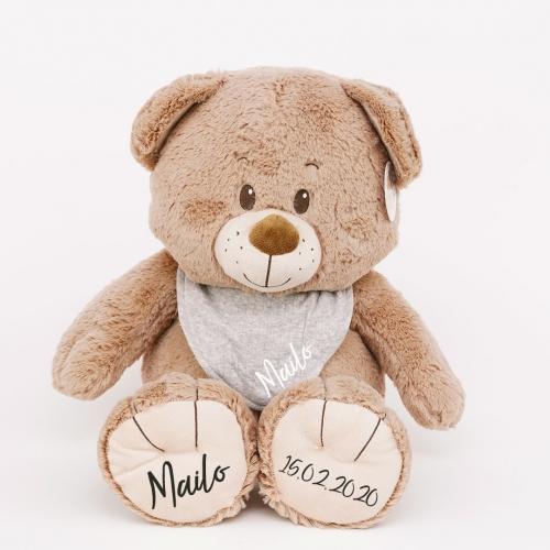 Teddybär mit Halstuch - 50 cm