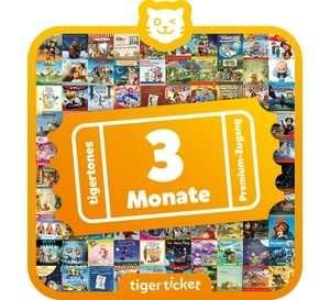 Tigerbox Touch Tigerticket - 3 Monate tigertones Premium- Zugang (90 Tage) keine Vertragsbindung | by Schmatzepuffer® online kaufen