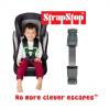 Gurtsicherung Abschnallschutz grau für Kinderwagen   StrapStop by Schmatzepuffer® online kaufen