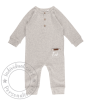 Little Dutch Overall - grey melange Gr.68   by Schmatzepuffer®