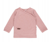 Little Dutch T-Shirt langarm Wickelshirt Größe 56 pink melange rosa | by Schmatzepuffer®