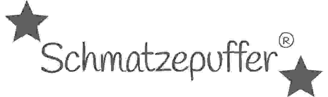 Schmatzepuffer® - Personalisiertes Holzspielzeug-Logo