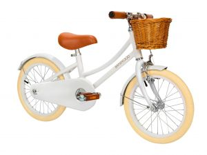 "BANWOOD CLASSIC BICYCLE Kinderfahrrad - White by Schmatzepuffer® ""personalisierbar"""