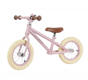 "Little Dutch 4540 Laufrad 12"" Balance Bike LoopScooter rosa pink 