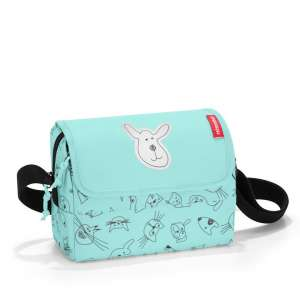 "Reisenthel® Everydaybag kids cats and dogs mint | by Schmatzepuffer® ""personalisierbar"" online kaufen"