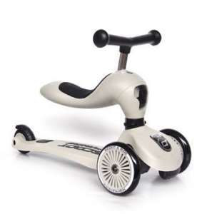 "Scoot and Ride Highwaykick 1 Scooter / Roller ash | by Schmatzepuffer® ""gratis personalisierbar"" online kaufen"