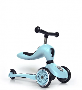 "Scoot and Ride Highwaykick 1 Scooter / Roller blueberry | by Schmatzepuffer® ""inklusive Namensaufkleber"" online kaufen"