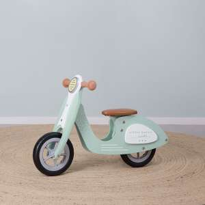 "NEU Little Dutch 4384 Holz Laufrad Roller LoopScooter mint | by Schmatzepuffer® ""personalisierbar"""