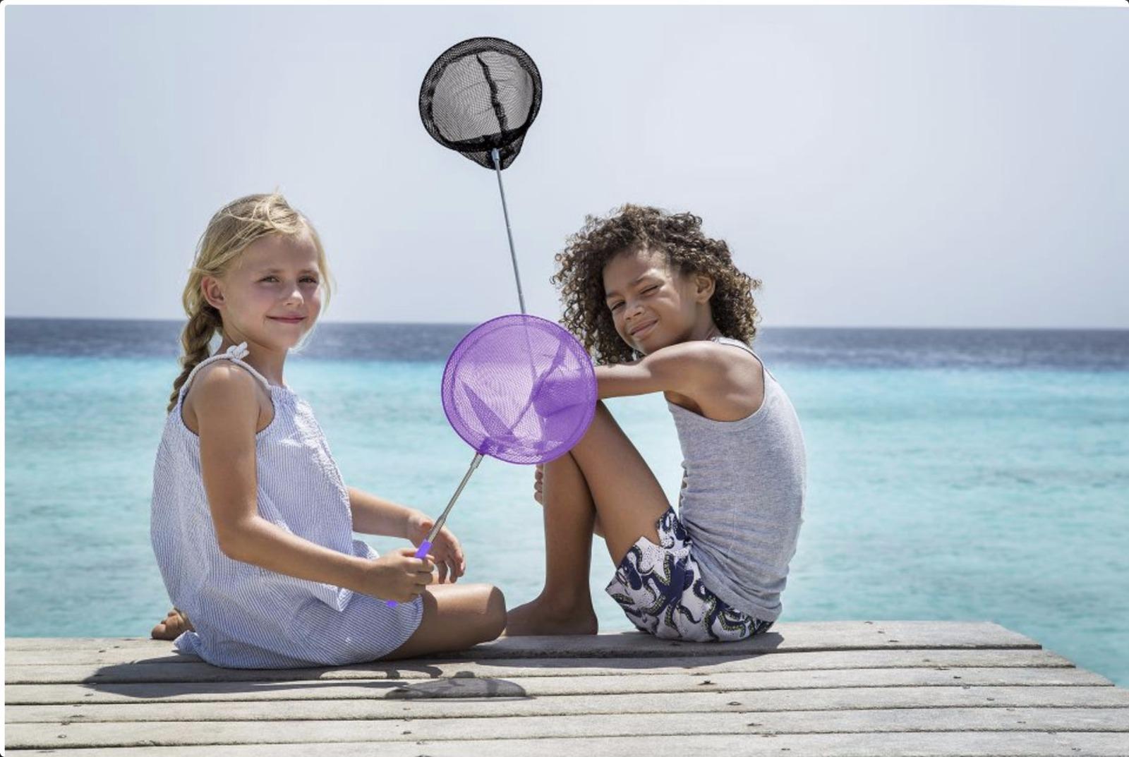 Schmatzepuffer® kreative ideen scrunch teleskop kescher schwarz