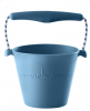 Scrunch Bucket Silikon Eimer duck egg blue | by Schmatzepuffer®