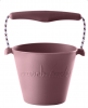 Scrunch Bucket Silikon Eimer dusty rosa | by Schmatzepuffer®